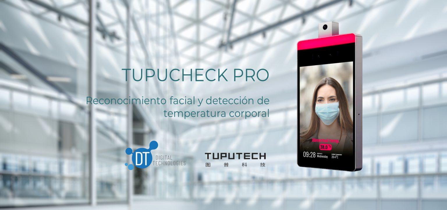 EADTrust Digtechs Tupucheck termoescaner de reconocimiento facial mascarilla y medicion temperatura corporal